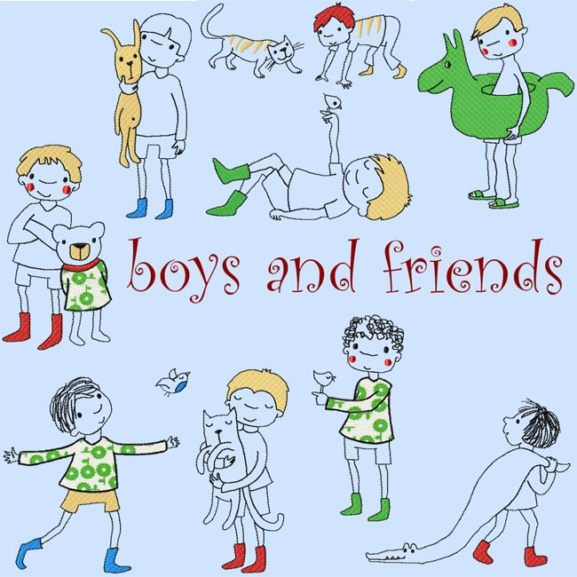 boys and friends