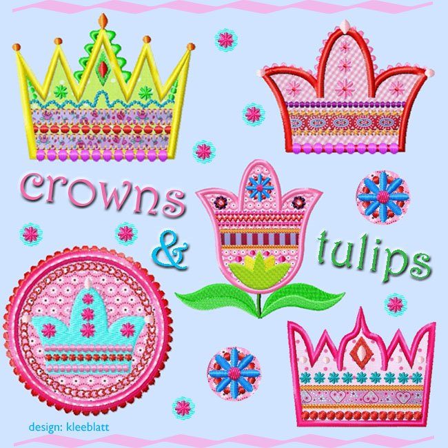 Crowns and Tulips