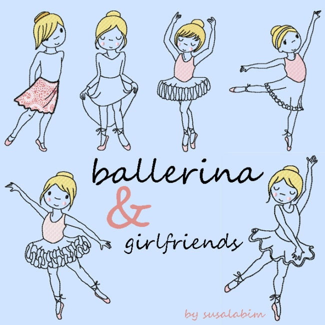 ballerina and girlfriends