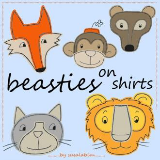 Beasties on Shirts