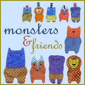 monsters and friends
