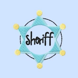 Einzeldatei - Sheriff-Button