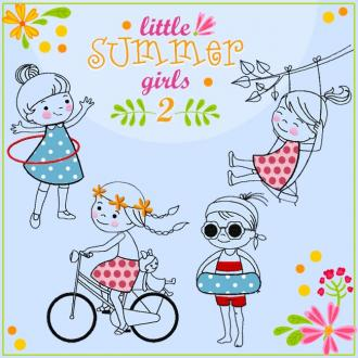 little SUMMER girls 2