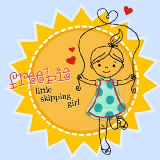 little Skipping girl (Freebie)