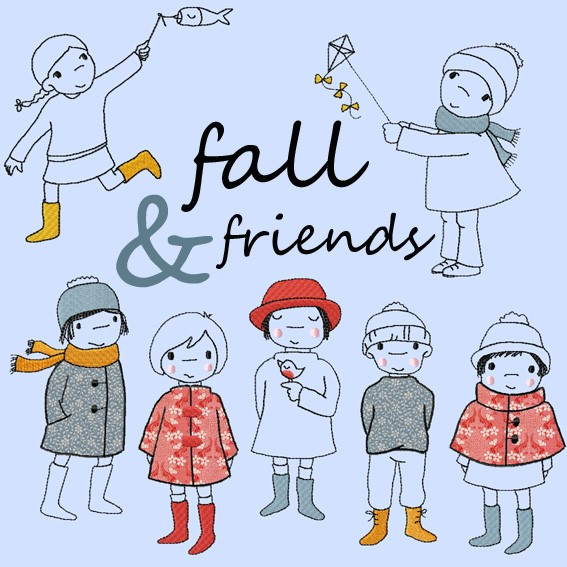 fall and friends