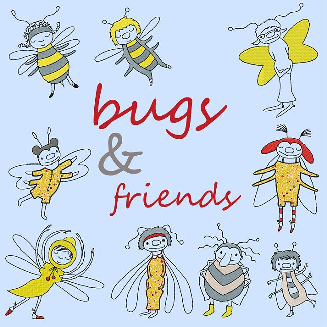 bugs and friends