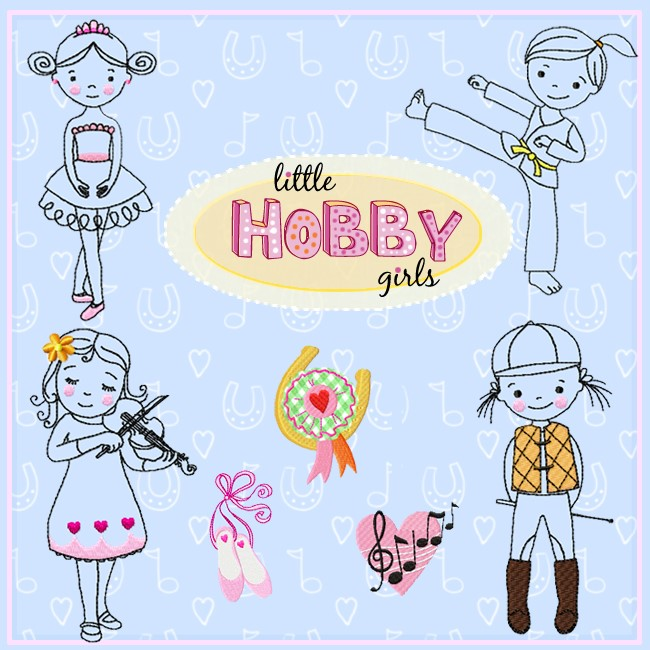 little HOBBY girls