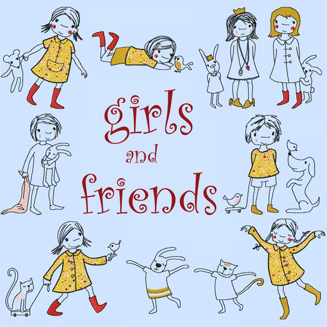 girls and friends
