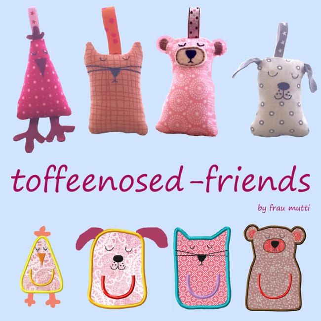 Toffeenosed Friends komplette Serie