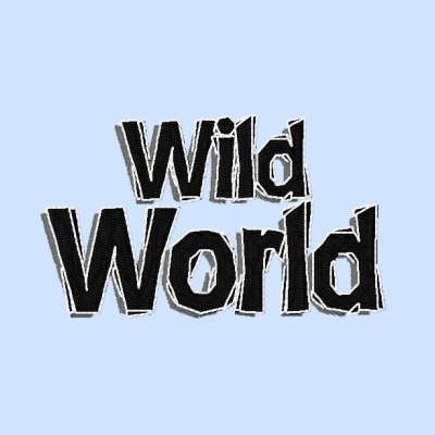 Einzeldatei - Wild World-Jerseyapplikation