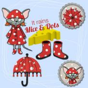 It rains Mice & Dots