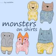 Monsters on Shirts