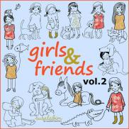 girls and friends Vol. 2